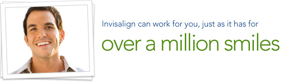 Invisalign can work for you, just as it has for over a million smiles